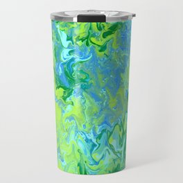 Paint Pouring 36 Travel Mug