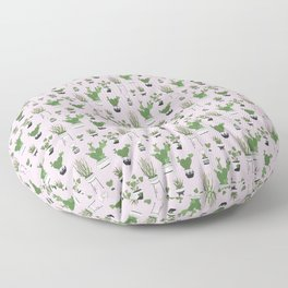 Cactus Love (in pink) Floor Pillow