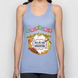 Day of the Dead 1 Unisex Tank Top