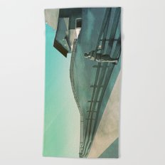 Waiting for You (Summer Version) Beach Towel