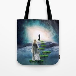 Journey to Happiness Tote Bag