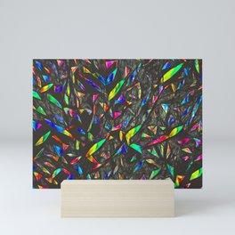 NeonTrees Abstract Pattern Mini Art Print