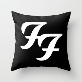 FooFighters Throw Pillow