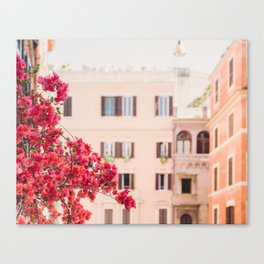 Springtime in Rome Canvas Print