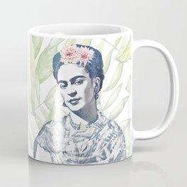 Viva la Frida   Watercolor Coffee Mug