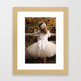 The Bow Framed Art Print