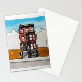 Last House Standing Stationery Cards
