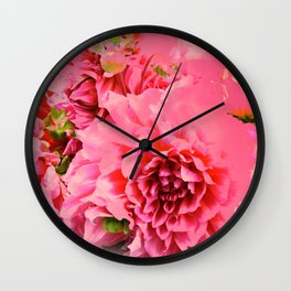 Pink Dream by Lika Ramati Wall Clock