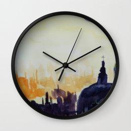 Méditation #1 Wall Clock