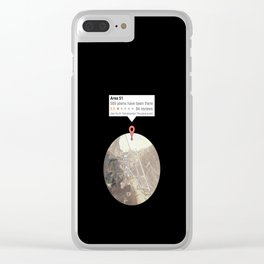 Area 51 reviews Clear iPhone Case