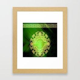 Jade island Framed Art Print
