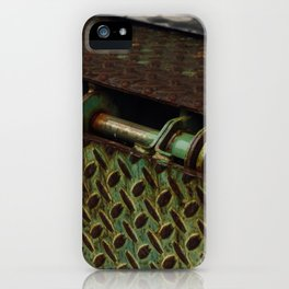 Green Metal - Seattle, WA iPhone Case