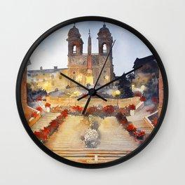 akwarelka 96 Wall Clock
