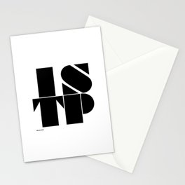 Type Type for ISTP Stationery Cards