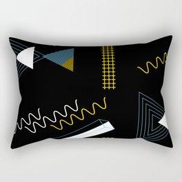 Geometric shapes artistic composition Rectangular Pillow
