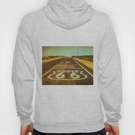 Route 66 Road Marker Hoody
