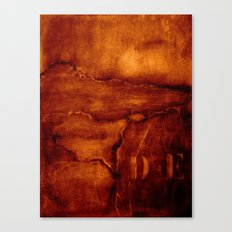 brown wall Canvas Print