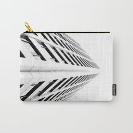 Keep Your Aim High (White Symmetry) Carry-All Pouch