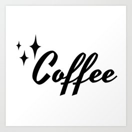 50s Vintage Style Retro Canister Label Coffee Art Print