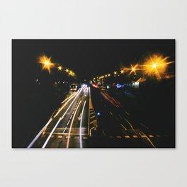 madrid likes night Canvas Print