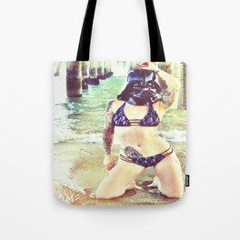 Darth Harmony's Summer Vacation Tote Bag