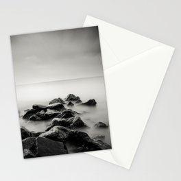 Rocks on the Beach Stationery Cards