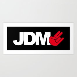 JDM shocker v4 HQvector Art Print