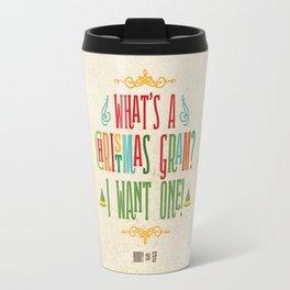 Buddy the Elf! What's a Christmas Gram? Travel Mug