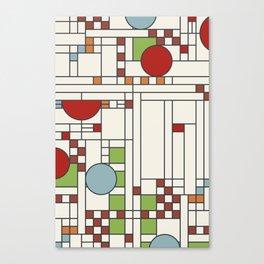 Frank lloyd wright pattern S02 Canvas Print