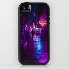 Shadowy Alley iPhone Case