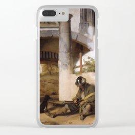 Carel Fabritius - De Poort Bewaker - The Sentinel - The Sentry Clear iPhone Case