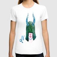 capricorn T-shirts featuring Capricorn by Aloke Design