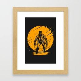 Yellow Logan Framed Art Print