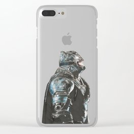 Dark night Clear iPhone Case