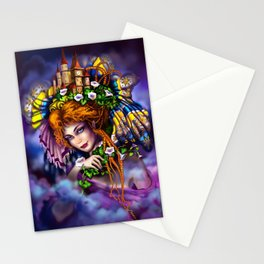 Fairy love and magic Stationery Cards