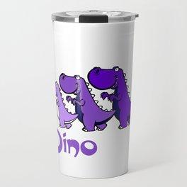 Team Dinosaur (Purple2) Travel Mug