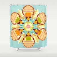 indie Shower Curtains featuring Indie Star by chloeeegee