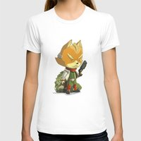starfox T-shirts featuring Fox by Rod Perich