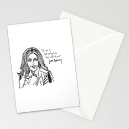 Jenna Maroney Drawing Stationery Cards
