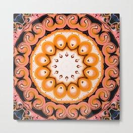 Star Flower of Symmetry 603 Metal Print