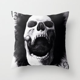 chared Throw Pillow