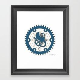 Odd Customs Logo  Framed Art Print