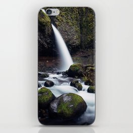 Ponytail Falls, Oregon iPhone Skin