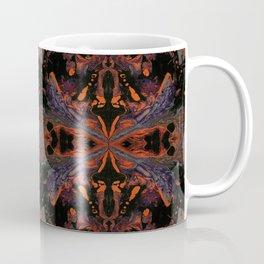 Psycho - Spooky Halloween Orange and Black Theme by annmariescreations Coffee Mug