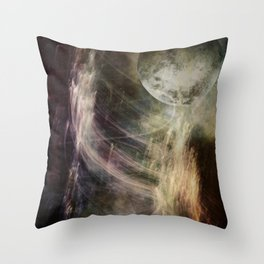 VISION QUEST LOG 1 Throw Pillow