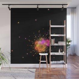 Stars explode Wall Mural