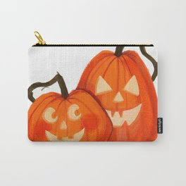 Jack O Lanterns Carry-All Pouch