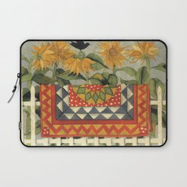 Sunflower Quilt Laptop Sleeve