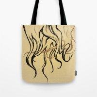 haim Tote Bags featuring HAIM- Long Locks by Tune In Apparel
