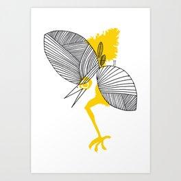 Birdyyyy Art Print